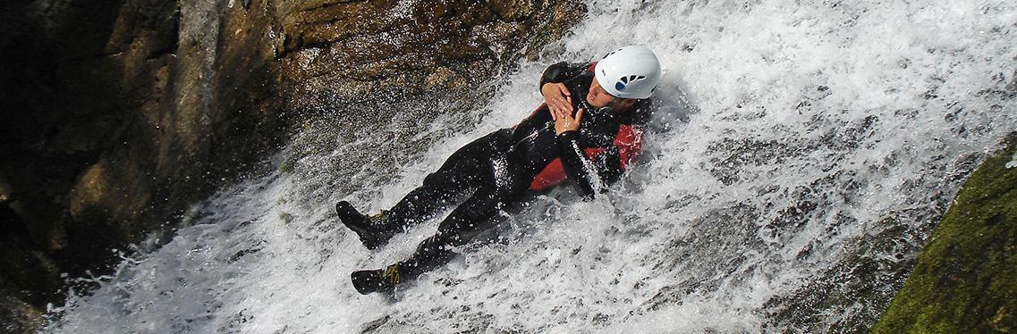Via Ferrata, Canyoning, Paragliding, Speleology ....